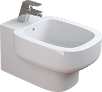 Bidet suspendu BE YOU - Sanitana