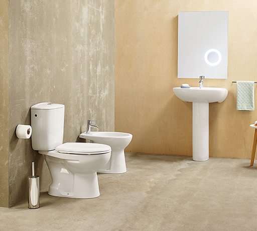 SANITANA • Sanitary ware Munique Series
